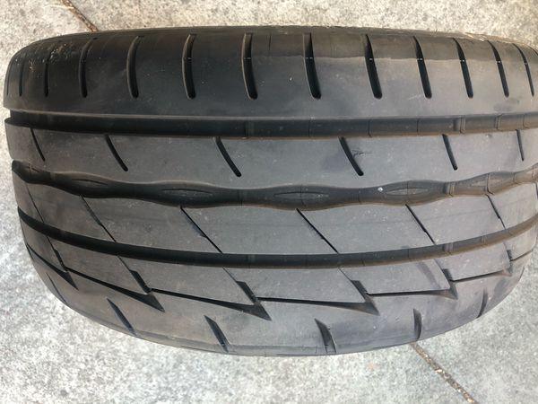Single Firestone Indy 500 tire
