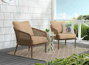 Outdoor patio furniture brand new in box . Hampton bay Coral vista lounge chair set of 2 for Sale in Alta Loma, CA