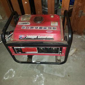 2000watt Generator for Sale in Portland, OR