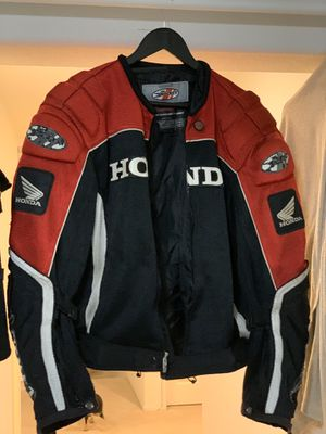 Official Honda Joe Rocket motorcycle jacket size Medium / M for Sale in Murrieta, CA