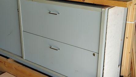 Garage workbench storage cabinet work bench for Sale in Renton,  WA