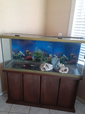 Fish tank and stand for Sale in Houston, TX