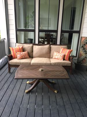 Anassa By Gloster Solid Teak Outdoor Set for Sale in Ashburn, VA