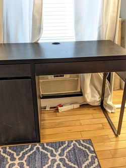 Desk With Storage Drawer And Cabinet for Sale in Brooklyn,  NY