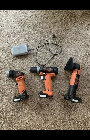 Black and decker cordless power tool set for Sale in Cypress, TX