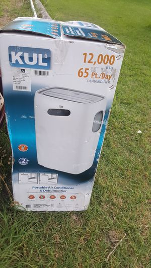 New in Box kul portable Airconditioner/Dehumidifier 12000btu for Sale in Richardson, TX