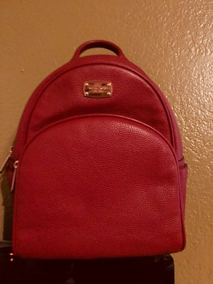 Michael kors leather backpacks both are new for Sale in Lodi, CA