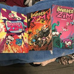 Invader Zim Books for Sale in Fresno,  CA