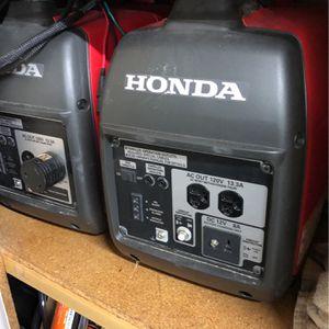 Honda EU2000 Generators for Sale in Escondido, CA