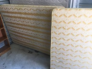 Full size bed, bed frame and nightstand for Sale in Bedford, TX