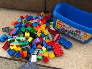 Over 180 Lego pieces with car building accessories for Sale in Lake Alfred, FL