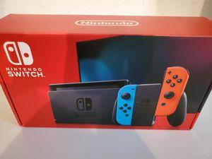 Nintendo Switch 32GB Console Neon Red & Blue Joy-con - NEW for Sale in Brockton, MA