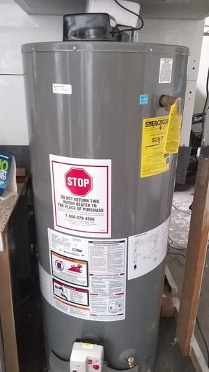 Rheem water heater promo price includes installation ‼️ 50 gallons 🆕 for Sale in Anaheim, CA