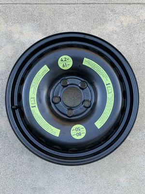 200307 Mercedes C-Class Spare Steel Wheel Rim Factory OEM {contact info removed} for Sale in Pasadena, CA