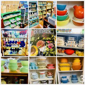 Vintage Pyrex & Artisan (Dixie Belle, IOD, General Finishes) Sale for Sale in Rockville, MD