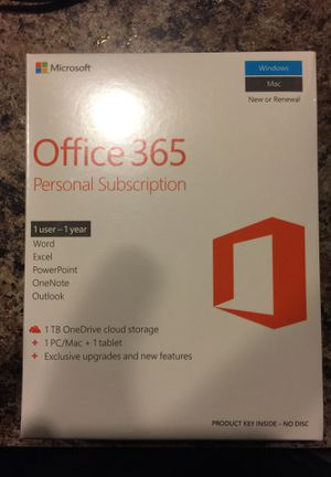 Brand new Office 365 for pc/Mac and tablets for Sale in Tulsa, OK