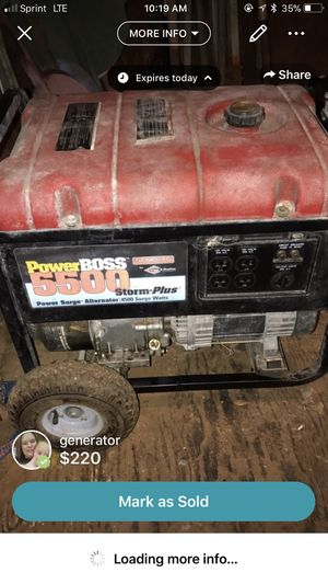Generator for Sale in Alexandria, LA