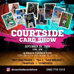 MIAMI SPORTS CARD SHOW - Saturday, Sept. 26th 12-6 PM - 1300 SW 87 AVE (BRAVE CHURCH) - lebron, herro, kahwi, Zion Williamson for Sale in Miami, FL
