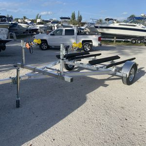 New Tandem jet ski, PWC, Aluminum Trailer $1900 Plus Tax for Sale in Fort Lauderdale, FL