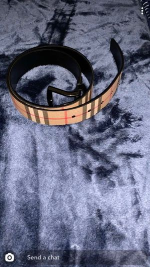 Burberry men's belt for Sale in Santa Clarita, CA