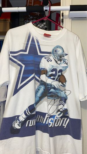 Vintage rare Reebok Emmit Smith T-shirt. Men's Large. for Sale in Georgetown, TX