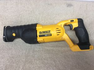 De Walt saw 20v willing to trade looking for a m12 fuel impact drill or selling for $75 for Sale in Riverbank, CA