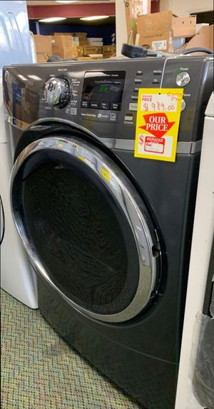 Brand New GE Black Stainless Steel Electric Dryer! 9AK3 for Sale in Los Angeles, CA