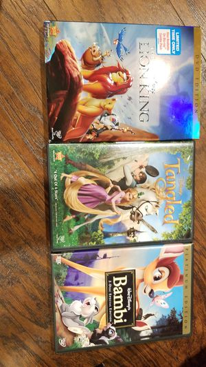 Disney classics animated dvd for Sale in La Mirada, CA
