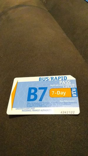 WEEKLY BUS PASS for Sale in Cleveland, OH