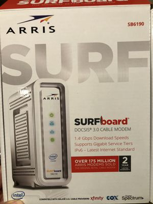 Arris Surfboard Docsis 3.0 cable modem for Sale in Arlington Heights, IL