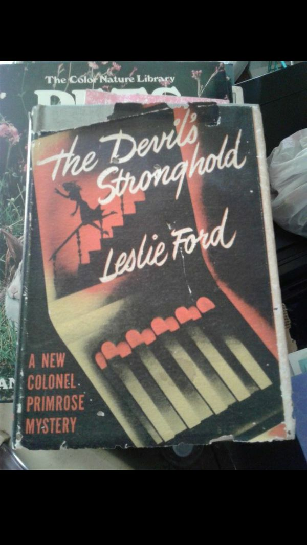 The devil's stronghold 1948 hard cover