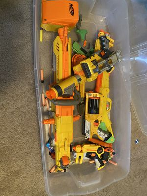 Nerf Toy guns, different kinds.... Sold as is for Sale in Webberville, TX