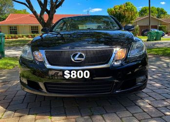 Full Price $8OO Lexus GS 2010 Immaculate condition for Sale in Chicago,  IL