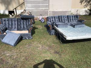 Sleeper sofa and love seet for Sale in Rhine, GA