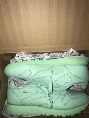 Mint Green Classic Reebok's for Sale in Phoenix, AZ