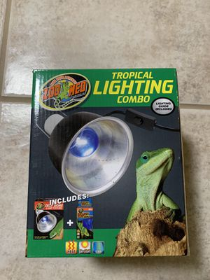 Zoo Med Tropical Lighting for Sale in Fort Lauderdale, FL