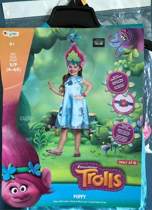HALLOWEEN TROLLS POPPY KIDS COSTUME for Sale in Rialto, CA