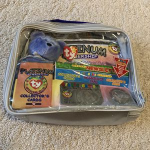 1999 Beanie Babies Platinum Membership Lot With Doll for Sale in Northbrook, IL