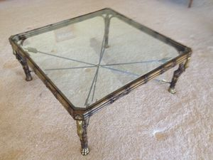 Antique Glass Coffee Table for Sale in New York, NY