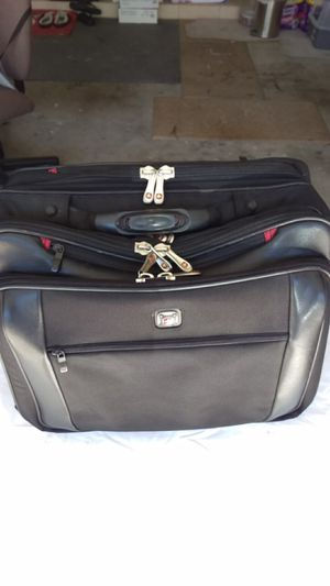 Wenger Swiss Gear Carry on Luggage / Briefcase - Multiple pocket - wheels for easy transport for Sale in Laguna Beach, CA