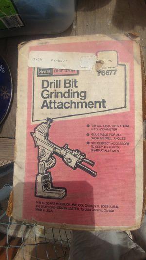 Craftsman drill bit sharpener for Sale in Commerce, CA