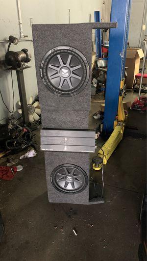 Kicker Merlin audio mean 1300/pro for Sale in Houston, TX