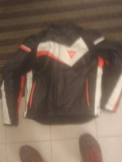 Leather Motorcycle Jacket for Sale in Vancouver,  WA