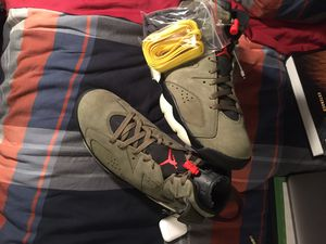 Travis Scott Air Jordan 6 Size 11.5 for Sale in Chevy Chase, MD