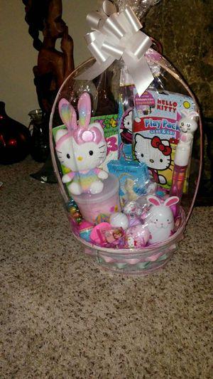 Hello Kitty Easter basket for Sale in Nashville, TN