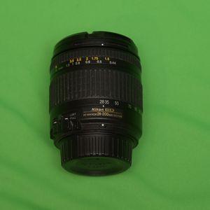 Nikon AF Zoom Nikkor ED 28-200mm F/3.5-5.6 Lens for Sale in Sammamish, WA