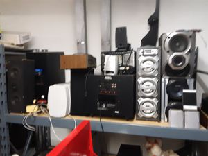 Lots of speakers. subs ...blue tooths...and surround for Sale in Pickerington, OH