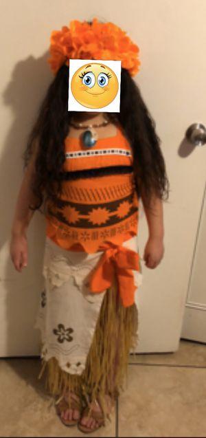 Moana Costume size 8/10 for Sale in Phoenix, AZ