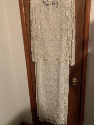 Seed pearl beaded wedding dress for Sale in Houma, LA