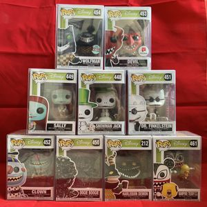 Disney Nightmare Before Christmas Pops for Sale in Cypress, CA
